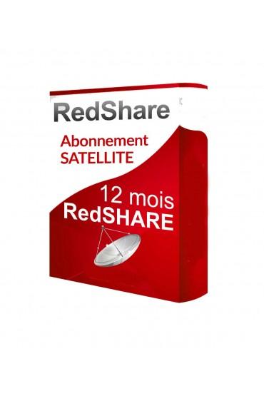 Abonnement Sharing Redshare 12 mois tunisie