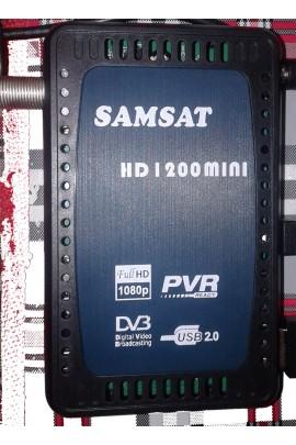 Récepteur SAMSAT 1200 MINI HD + 12 mois SHARING (REDCAM)