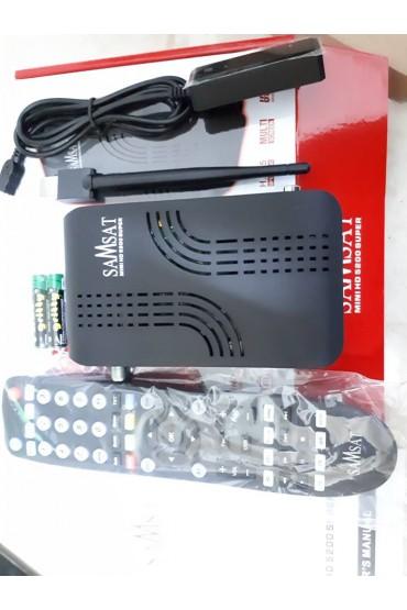 Récepteur Samsat 5200 HD Super + 15 mois Sharing Forever et 12 mois IPTV AIRYSAT + VOD tunisie