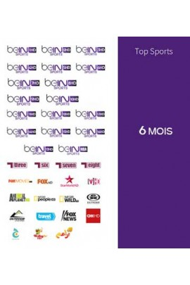 Abonnement Bein Sports 6 mois TOP SPORTS