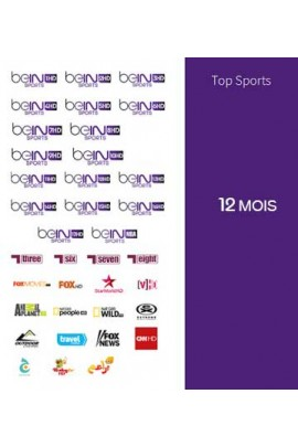Abonnement Bein Sports 12 mois TOP SPORTS