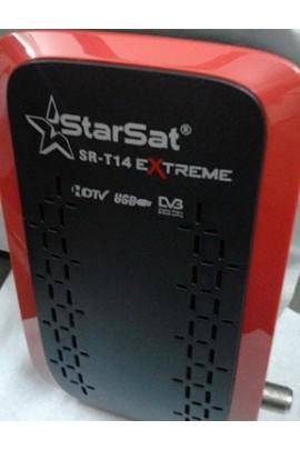 Récepteur Starsat SR-T14 EXTREME (2020 Extreme) + 15 mois Sharing Forever et 12 mois IPTV AIRYSAT + VOD