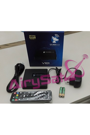 Box Android OVEEBOX V101 4K + 12 mois IPTV AIRYSAT tunisie